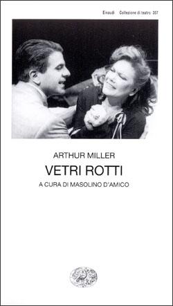 Copertina del libro Vetri rotti di Arthur Miller