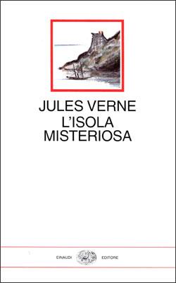 Copertina del libro L'isola misteriosa di Jules Verne