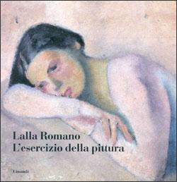 Copertina del libro L'esercizio della pittura di Lalla Romano