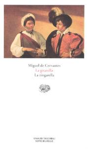 Copertina del libro La gitanilla. La zingarella di Miguel de Cervantes