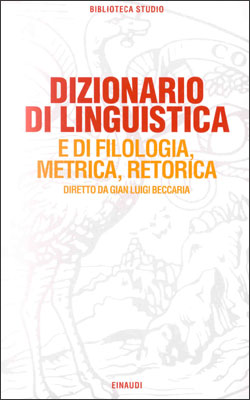 Copertina del libro Dizionario di linguistica di VV.