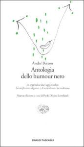 Copertina del libro Antologia dello humour nero di André Breton