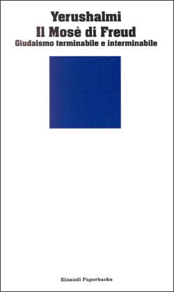 Copertina del libro Il Mosè di Freud di Yosef Hayim Yerushalmi