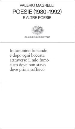 Copertina del libro Poesie (1980-1992) di Valerio Magrelli