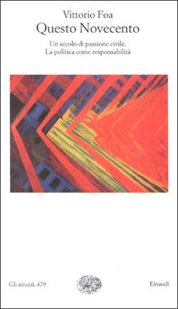 Copertina del libro Questo Novecento di Vittorio Foa