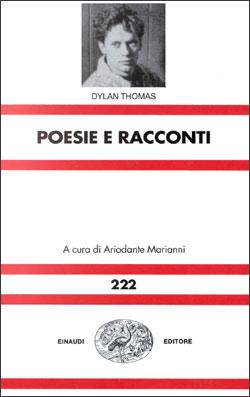 Copertina del libro Poesie e prose di Dylan Thomas