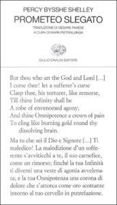Copertina del libro Prometeo slegato di Percy Bysshe Shelley