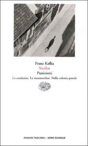 Copertina del libro Strafen. Punizioni. (La condanna. La metamorfosi. Nella colonia penale) di Franz Kafka
