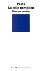 Copertina del libro Lo stile semplice di Enrico Testa