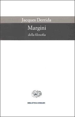 Copertina del libro Margini della filosofia di Jacques Derrida