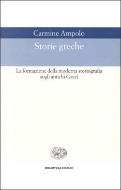 Copertina del libro Storie greche di Carmine Ampolo