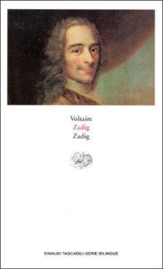 Copertina del libro Zadig di Voltaire