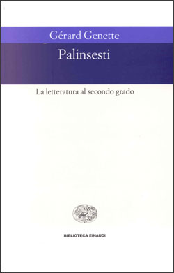 Copertina del libro Palinsesti di Gérard Genette