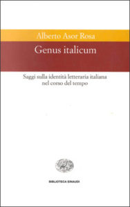 Copertina del libro Genus italicum di Alberto Asor Rosa