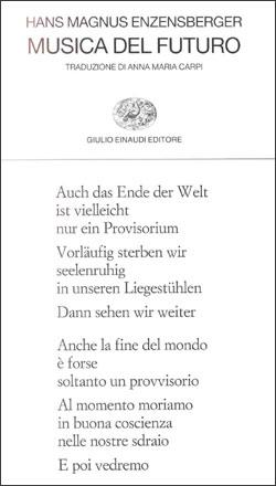 Copertina del libro Musica del futuro di Hans Magnus Enzensberger