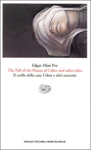 Copertina del libro The Fall of the House of Usher and other tales. Il crollo della casa Usher e altri racconti di Edgar Allan Poe