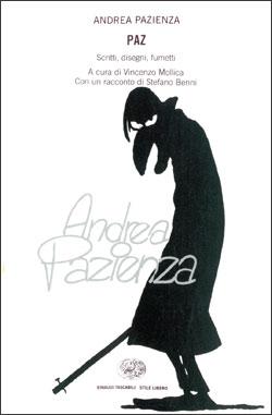 Copertina del libro Paz di Andrea Pazienza