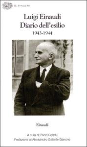 Copertina del libro Diario dell'esilio (1943-1944) di Luigi Einaudi
