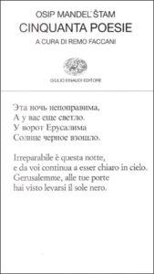 Copertina del libro Cinquanta poesie di Osip Mandel'stam