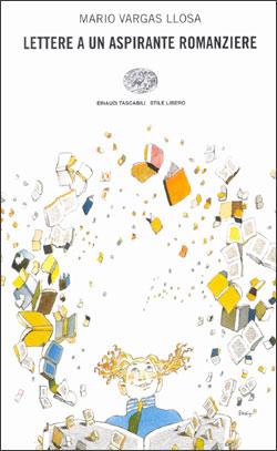 Copertina del libro Lettere a un aspirante romanziere di Mario Vargas Llosa
