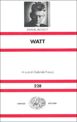 Copertina del libro Watt di Samuel Beckett