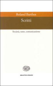 Copertina del libro Scritti di Roland Barthes