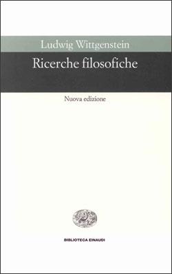 Copertina del libro Ricerche filosofiche di Ludwig Wittgenstein