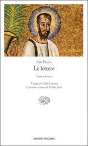 Copertina del libro Le lettere di San Paolo