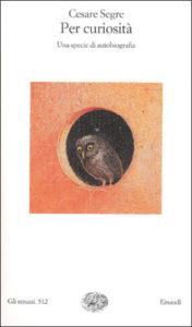 Copertina del libro Per curiosità di Cesare Segre