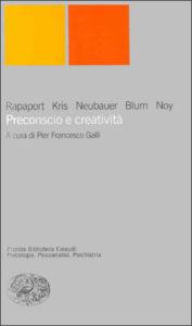 Copertina del libro Preconscio e creatività di VV.