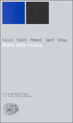 Copertina del libro Storia della musica