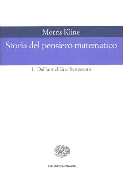 Copertina del libro Storia del pensiero matematico. I di Morris Kline