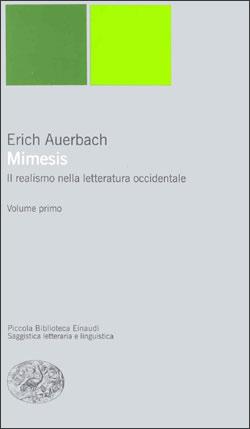 Copertina del libro Mimesis. Il realismo nella letteratura occidentale di Erich Auerbach