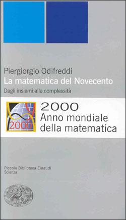 Copertina del libro La matematica del Novecento di Piergiorgio Odifreddi