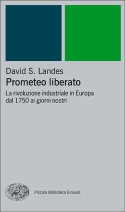 Copertina del libro Prometeo liberato di David S. Landes