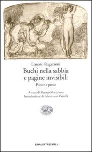 Copertina del libro Buchi nella sabbia e pagine invisibili di Ernesto Ragazzoni