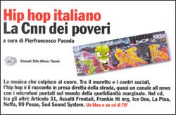 Copertina del libro Hip Hop italiano di VV., Pierfrancesco Pacoda