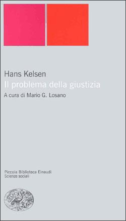 Copertina del libro Il problema della giustizia di Hans Kelsen