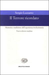 Copertina del libro Il Terrore ricordato di Sergio Luzzatto