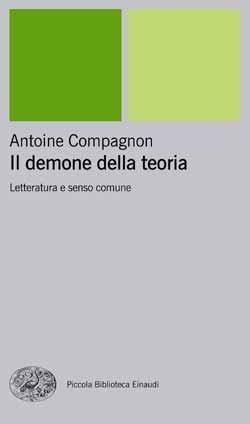 Copertina del libro Il demone della teoria di Antoine Compagnon