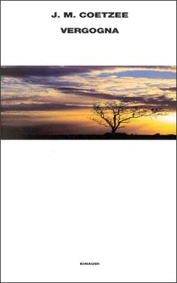 Copertina del libro Vergogna di J. M. Coetzee