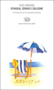 Copertina del libro Spiaggia, sdraio e solleone di Nico Orengo