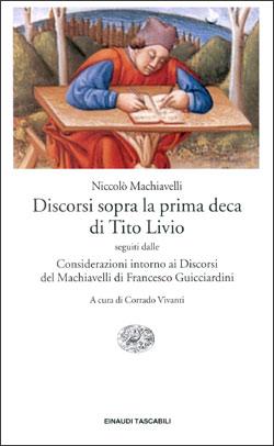 Copertina del libro Discorsi sopra la prima deca di Tito Livio di Niccolò Machiavelli
