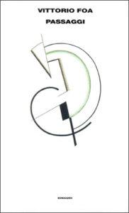 Copertina del libro Passaggi di Vittorio Foa