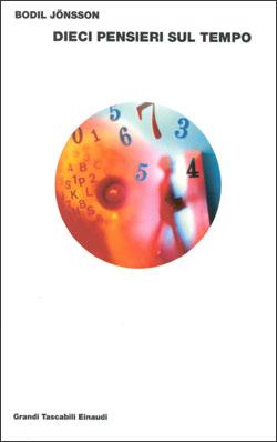 Copertina del libro Dieci pensieri sul tempo di Bodil Jönsson