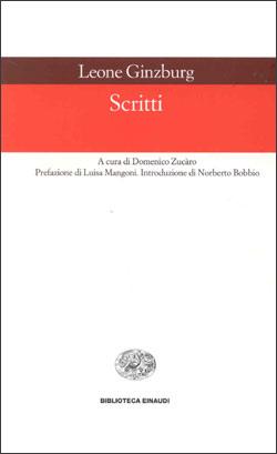 Copertina del libro Scritti di Leone Ginzburg