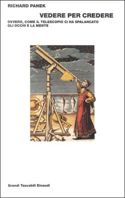 Copertina del libro Vedere per credere di Richard Panek