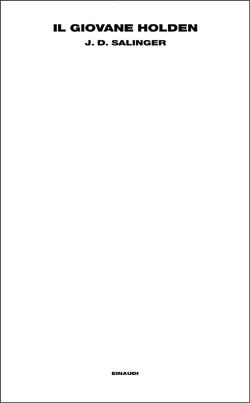 Copertina del libro Il giovane Holden di J. D. Salinger