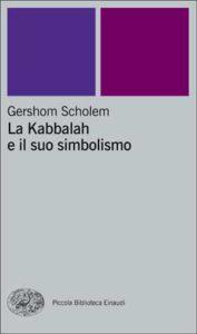 Copertina del libro La Kabbalah e il suo simbolismo di Gershom Scholem