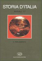 Copertina del libro Storia d'Italia. Annali 17. Il parlamento di VV.